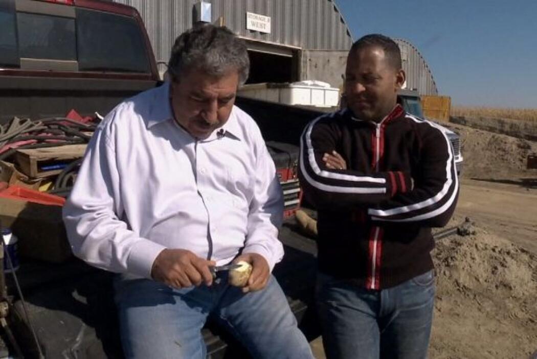 Frank Martinez el  rey de las papas le contó a Tony cual ha sido la clav...