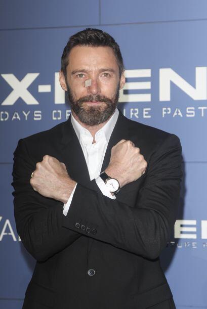 Con su papel de X-men nos acostumbramos a verlo con algo más de pelo.