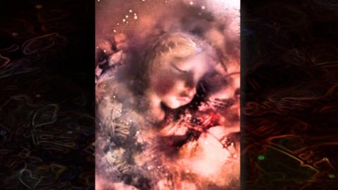 Retrato imaginado de la niña Edith Howard Cook, 'Miranda Eve'.