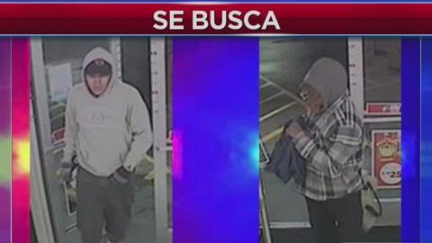 Autoridades solicitan ayuda de la comunidad para encontrar a asaltantes