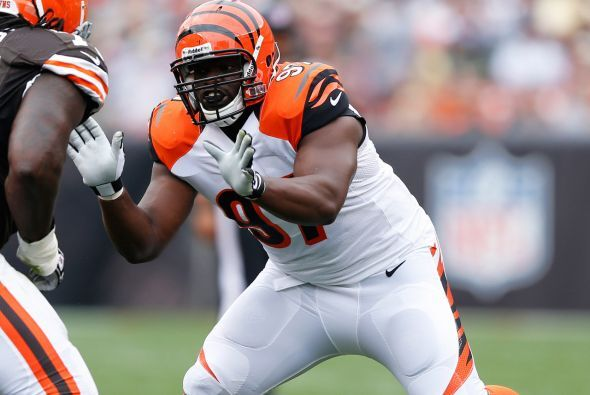 Tackle defensivo: Geno Atkins, Cincinnati Bengals.