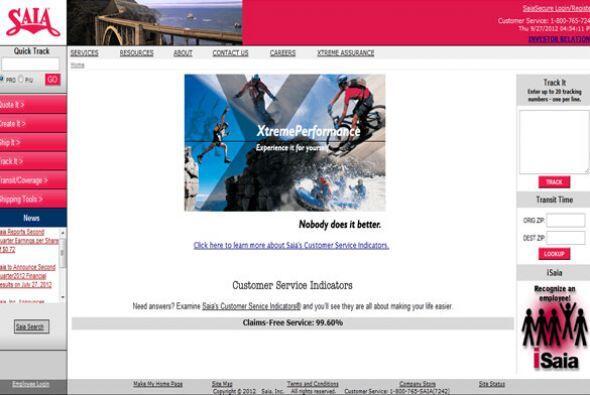 SAIA- La empresa de transporte busca: Controlador de distancia de la l&i...