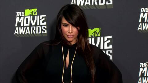 ¡Kim Kardashian tiene tres meses de embarazo!