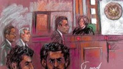 Presuntos terroristas se presentan en Corte en Newark: Supuestamente pla...