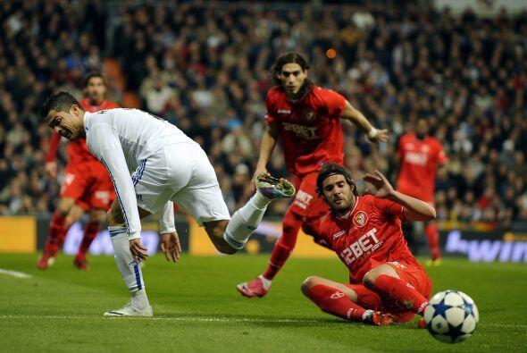 El primer encuentro fue ganado por el Madrid por 1-0.