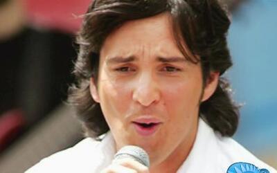 Danilo Parra vino a darle ánimos a toda la hincha Ecuatoriana