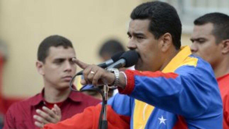 El presidente de Venezuela. Nicolás Maduro.