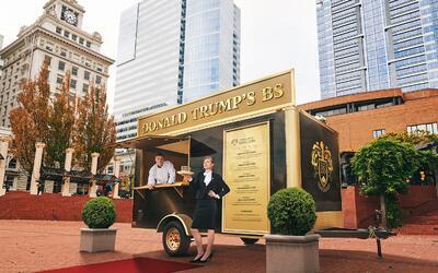 Food Truck Donald Trump