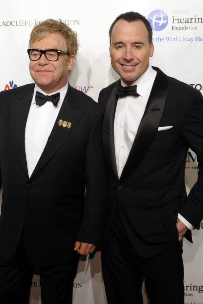 Elton John y su esposo David Furnish se casaron por segunda vez.