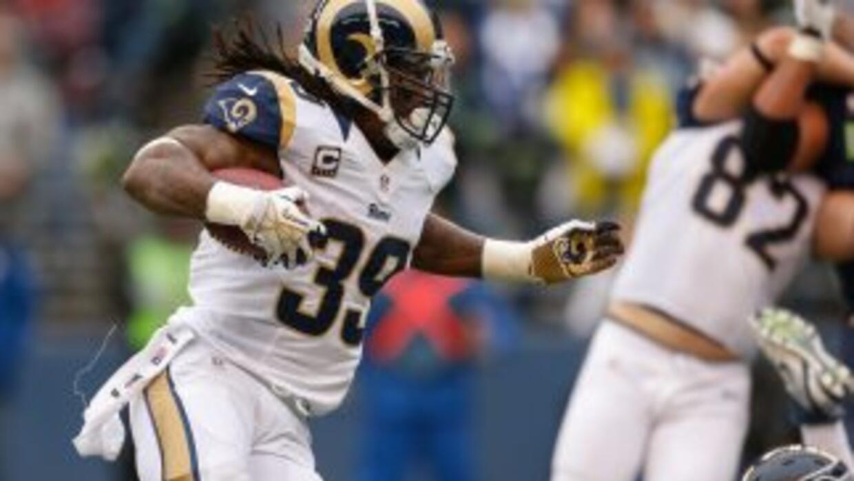 Steven Jackson ha jugado toda su carrera en los Rams.