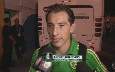 """Andrés Guardado: """"El camino para nosotros es Rusia, no era ganarle a Hon..."""