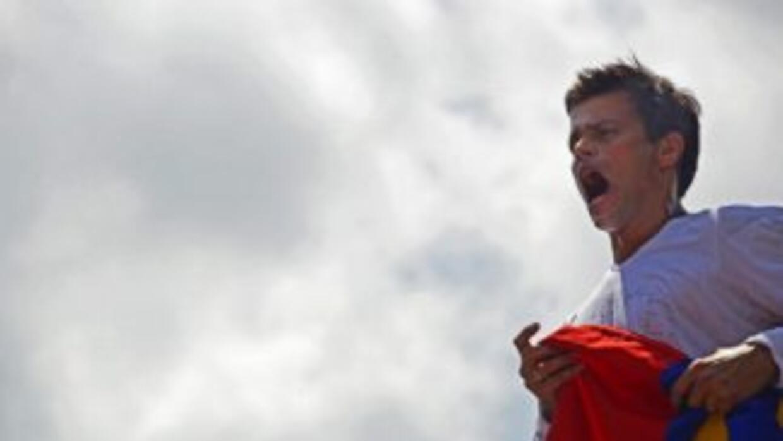 Se declara preso político Leopoldo López