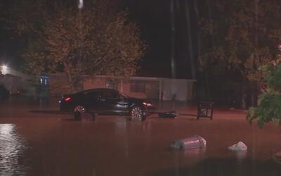 La comunidad de Danbury fue una de las más afectadas por las lluvias en...