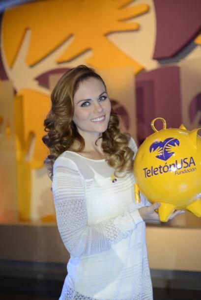 Para la actriz ser parte del Teletón USA es una oportunidad de ca...