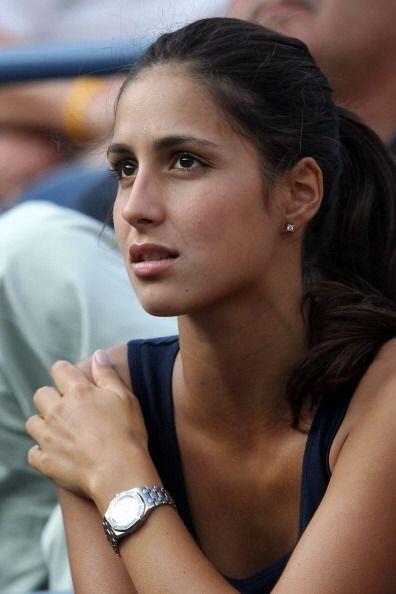 Su inseparable novia, Francisca Perello, estuvo presente y lo apoyó.
