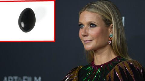 Gwyneth Paltrow vendía este huevo de jade en su página 'Goop'.