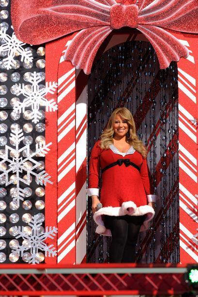 Mariah Carey anunció que sería mamá por partida doble con su esposo Ni...
