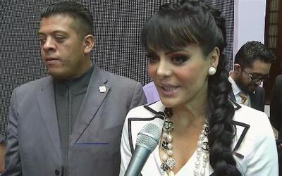 Maribel Guardia está preocupada por Joan Sebastian y la hija de Luismi s...
