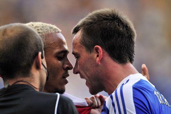 Terry, jugador del Chelsea, eligió una manera poco delicada de demostrar...