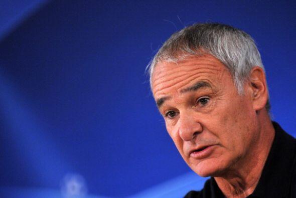 Claudio Ranieri está en la 'cuerda floja' en el Inter porque no consigue...