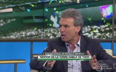 """Néstor de la Torre: """"Almeyda es el menos culpable"""""""