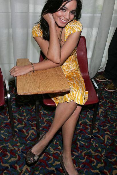 Vanessa Hudgens, una estudiante de 10 en High School Musical.