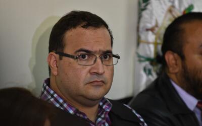Javier Duarte, exgobernador de Veracruz, detenido en Guatemala.