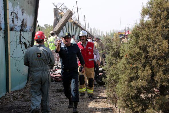 El resultado fue la muerte de 77 personas. (Con información de ag...
