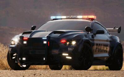 """El nuevo Barricade de """"Transformers 5"""", revelado con cuerpo de Ford Mustang"""