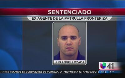 Sentencian a ex agente de la patrulla fronteriza