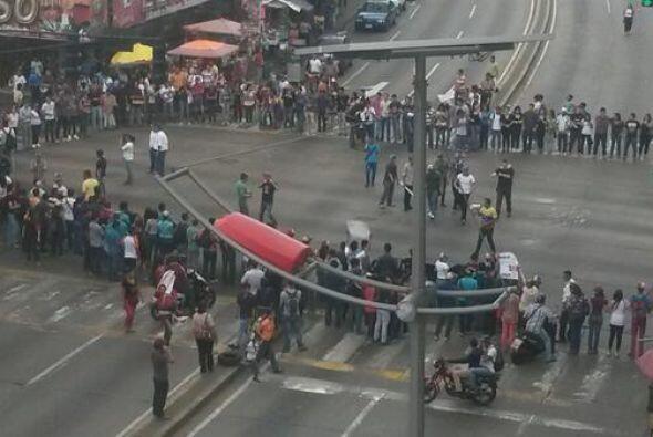 Protestas en Maturín, estado de Monagas. Fotografía de MaturinDistinta p...