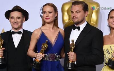 ¡Bravo! Ellos se llevaron su Oscar a casa