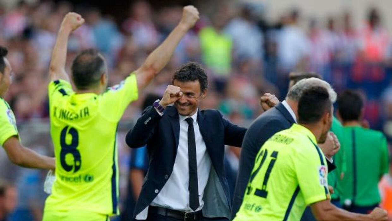 El estratega del Barcelona elogió a sus jugadores tras el campeonato con...
