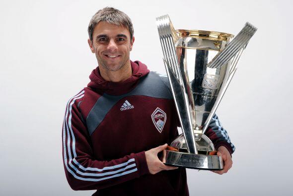 Claudio 'El Piojo' López ganó el Torneo de la MLS con Colorado Rapids y...