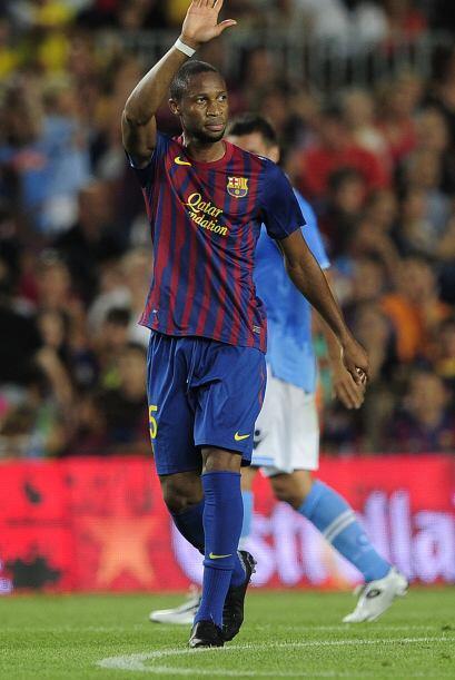 Seydou Keita, jugador de Mali, puede dejar al Barcelona ante la falta de...