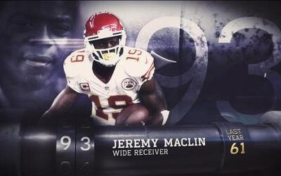 Top 100 Jugadores 2016: (Lugar 93) WR Jeremy Maclin – Chiefs