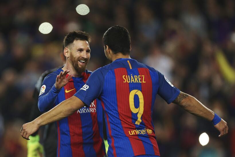Messi y Suárez mantienen al Barcelona al acecho del Madrid 6362555787819...