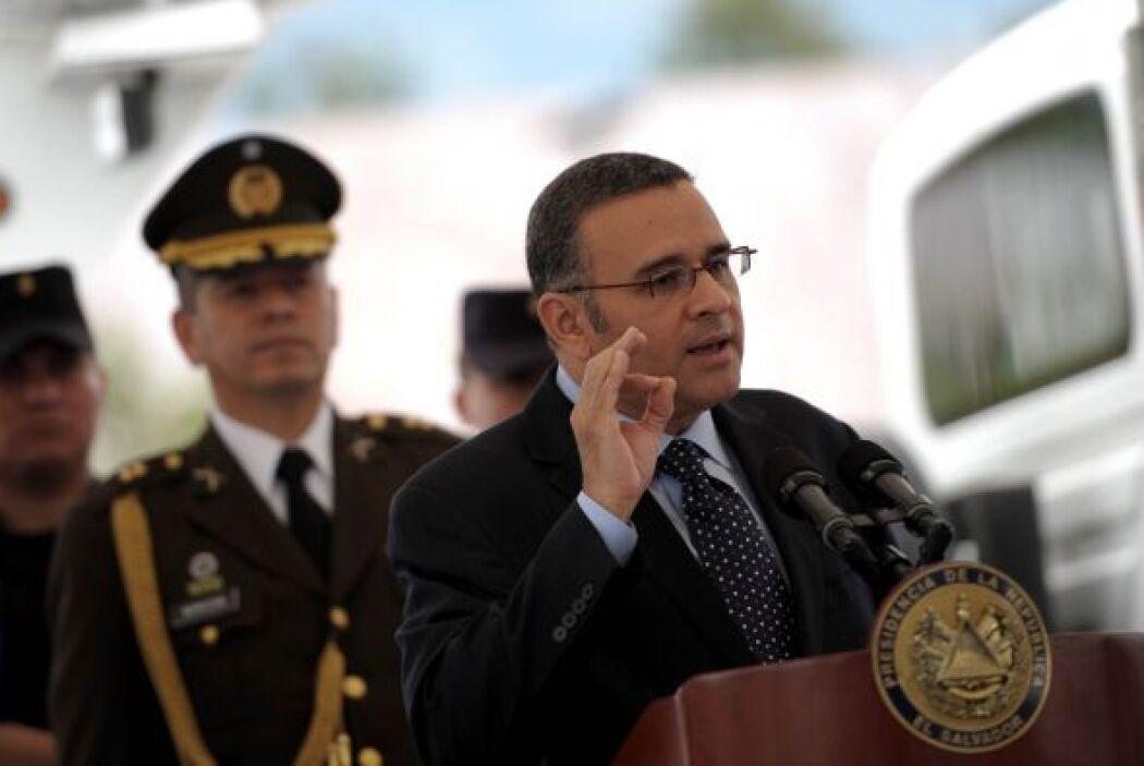 En materia de violencia, el presidente Mauricio Funes Cartagena detalló...