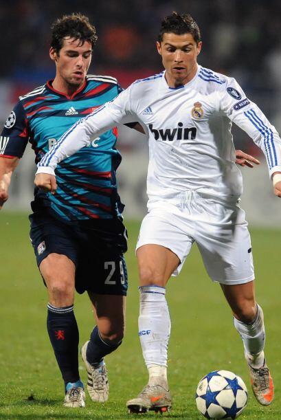 Real Madrid se metió a la casa del Lyon, su verdugo en recientes ediciones.