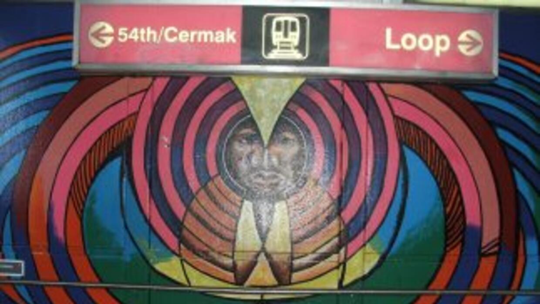 Los coloridos murales son un icono que identifica el arte de Pilsen, un...