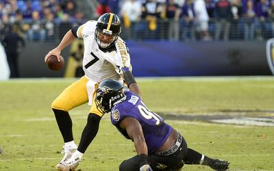 Baltimore contuvo a Roethlisberger y derrotó a Pittsburgh