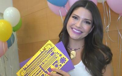Ana Patricia mostró en exclusiva la invitación a su boda