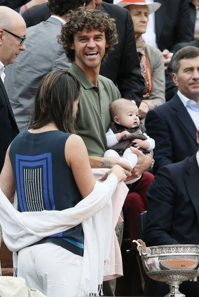 Esta final le trajo muchos recuerdos al ex tenista brasileño, Gustavo Ku...