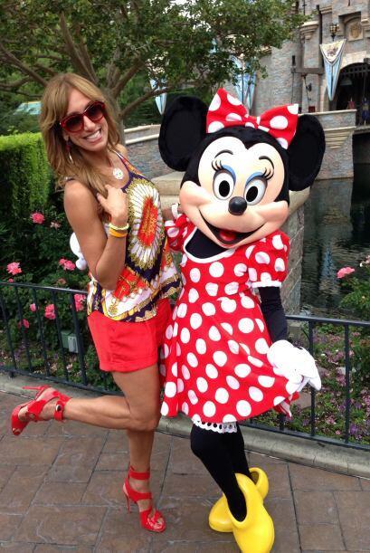 Raúl y Lili en Disney