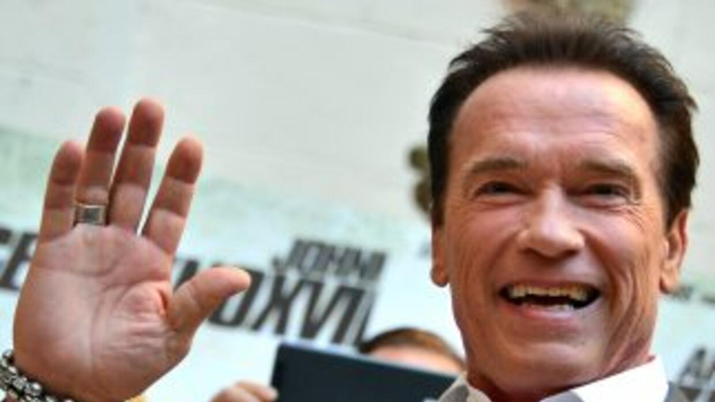 El ex gobernador de California y actor de cine Arnold Schwarzenegger.