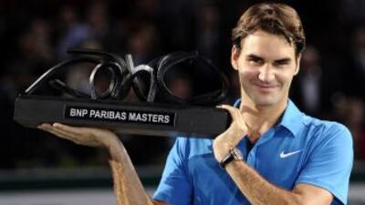 El tenista suizo se impuso en la Final del torneo al galoJo-Wilfried Ts...