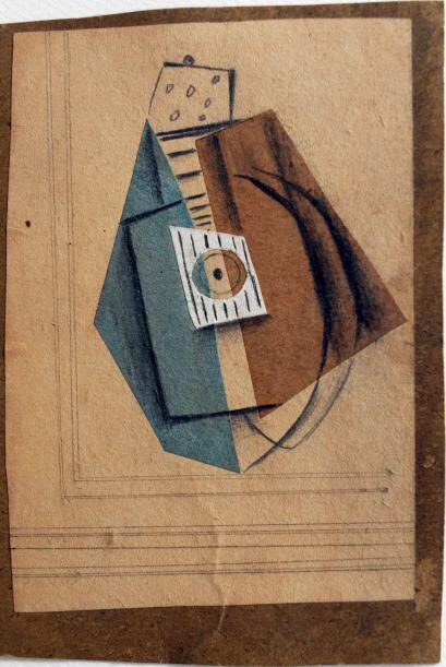 La colección, que data del periodo más creativo del artista, de 1900 a 1...
