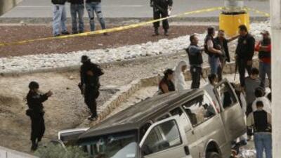 La fiscalía estatal indicó queel enfrentamiento ocurrió en una localida...