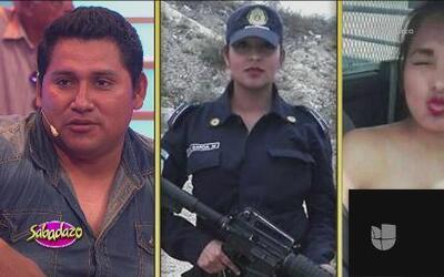 El esposo de Nidia García sí se molestó con la foto