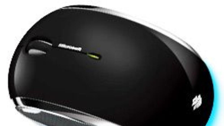 El nuevo Wireless Mobile Mouse 6000 de Microsoft es un ratón de láser az...